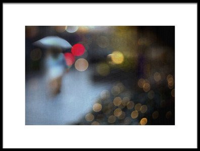 Art print titled Rain by the artist Teruhiko Tsuchida