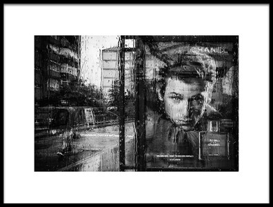 Art print titled Rain by the artist Nihal Eken