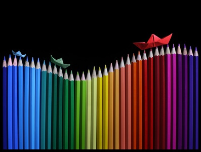 Art print titled Rainbow Storm by the artist Victoria Ivanova