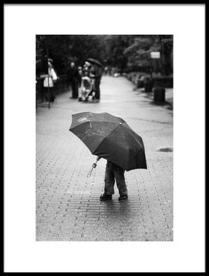 Buy this art print titled Rainy Day by the artist Liesbeth van der Werf