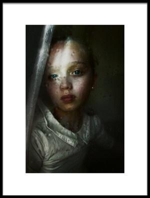 Art print titled Rainy Mood by the artist Kharinova Uliana