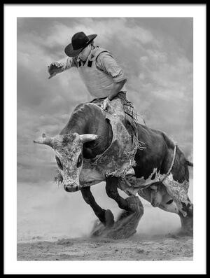 Art print titled Ram Rodeo by the artist Yun Wang