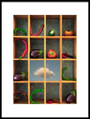 Buy this art print titled Ratatouille by the artist Christian MARCEL