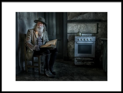 Buy this art print titled Reading In the Kitchen by the artist Hans Wolfgang Müller