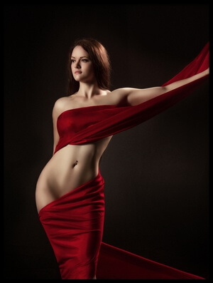 Buy this art print titled Red by the artist Аntonik