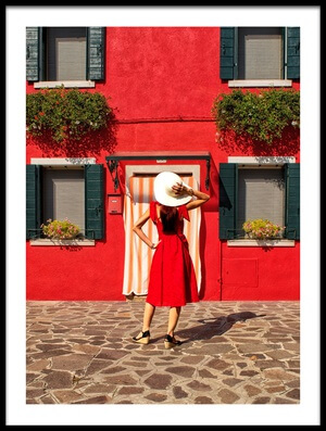 Buy this art print titled Red by the artist Anette Ohlendorf