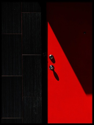Buy this art print titled Red and Black by the artist Jian Wang