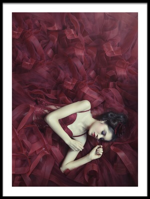 Buy this art print titled Red Blossom by the artist hardibudi