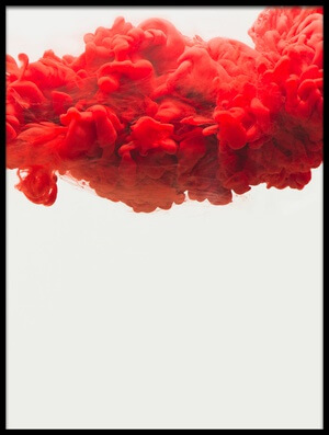 Buy this art print titled Red Cloud by the artist Dina Belenko