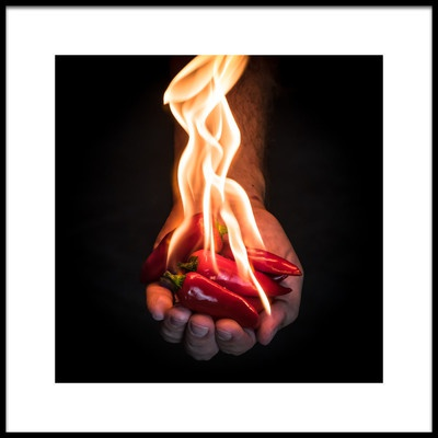 Art print titled Red Hot Chili Peppers by the artist Mike Melnotte
