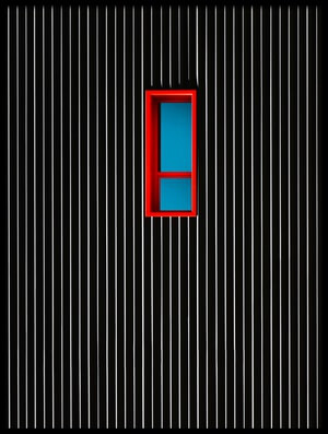 Buy this art print titled Red Window by the artist Alfonso Novillo