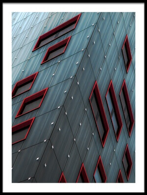 Buy this art print titled ReD WindOws by the artist Gilbert Claes