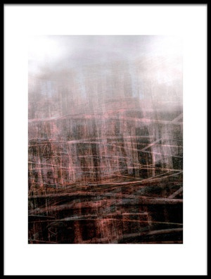 Art print titled Redwood Forest by the artist Nictsi Khamira