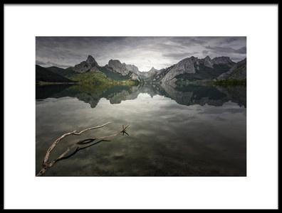Art print titled Reflection by the artist Oskar Baglietto