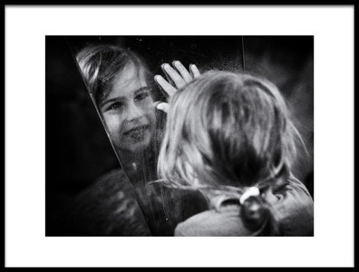 Art print titled Reflection by the artist Thomas Siegel