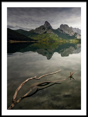Art print titled Reflection by the artist Oskar Baglietto