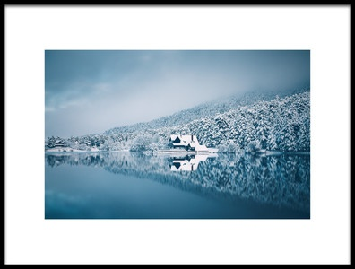 Art print titled Reflection by the artist Cuma Cevik