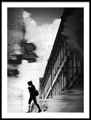 Buy this art print titled Reflection On the Street by the artist Dragoslav S.