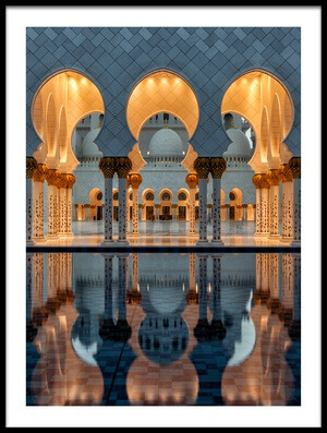 Art print titled Reflections by the artist Stefan Schilbe