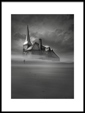 Art print titled Refuge by the artist David Senechal Photographie (polydactyle)