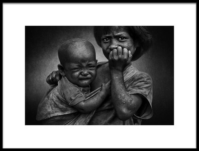 Art print titled Relieve Us by the artist Fadhel Almutaghawi