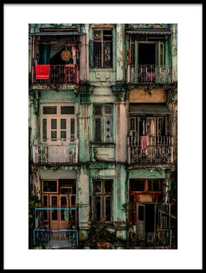 Art print titled Remnants of Another Era by the artist Marcus Blok
