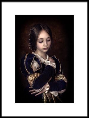 Art print titled Renaissance 2 by the artist Lidia Vanhamme