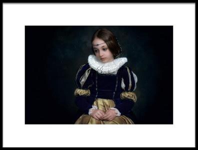 Art print titled Renaissance 4 by the artist Lidia Vanhamme