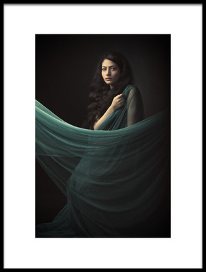 Art print titled Reyhan by the artist Mehdi Mokhtari