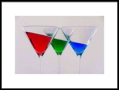 Art print titled RGB Photographic Cocktail by the artist Antonio Rodríguez Maldonado
