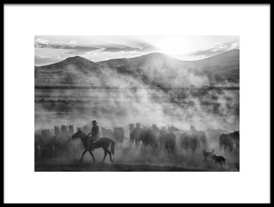 Art print titled Rider On the Roll by the artist aumitcanan