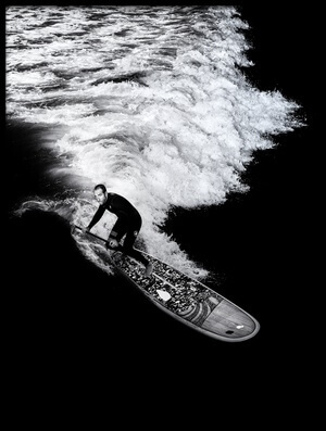 Buy this art print titled Riding the Wave by the artist Massimo Della Latta