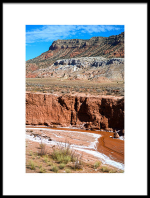 Buy this art print titled Rio Penasco Y Mesa Rojo by the artist Rob Corkran