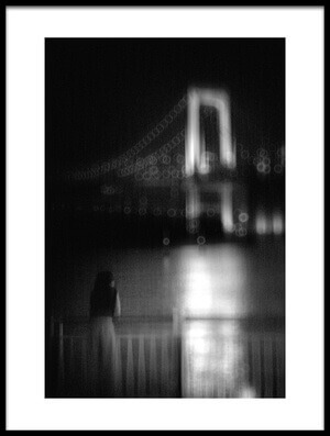 Buy this art print titled River and Bridge by the artist Teruhiko Tsuchida