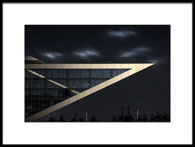 Art print titled Rntgenarchitektur by the artist Oscar Lopez
