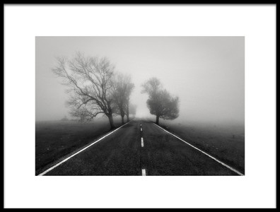 Buy this art print titled Road to Infinity by the artist Fran Osuna