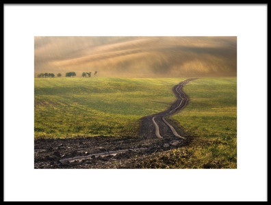 Buy this art print titled Road to Nowhere by the artist Krzysztof Browko