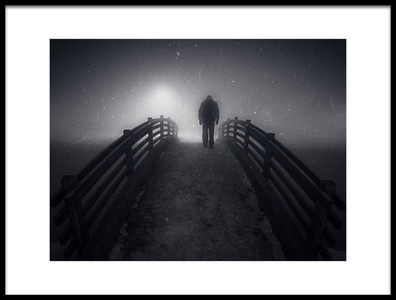 Art print titled Road to the Promised Fog by the artist Ertekin Totic