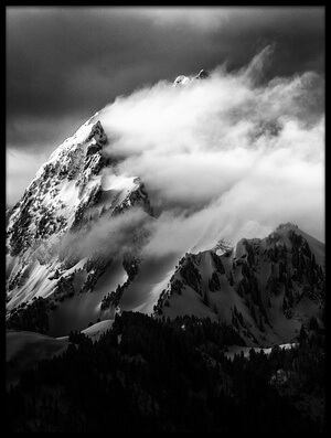 Art print titled Rock and Wind II by the artist Sébastien Cheminade