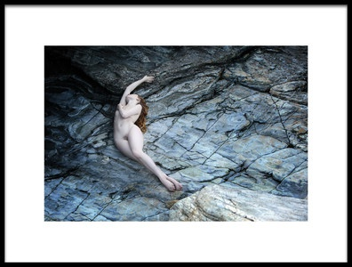 Art print titled Rock Formation by the artist Hugh Wilkinson