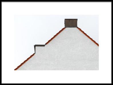 Art print titled Roof by the artist Jochen Krumpe
