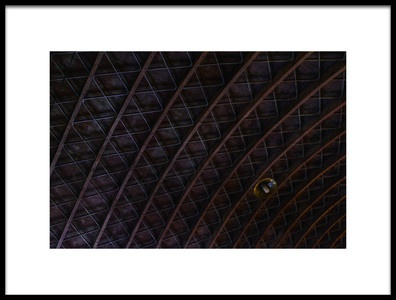 Art print titled Roofing by the artist Marius Surleac