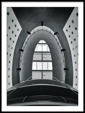 Art print titled Rooflight by the artist Henk van Maastricht