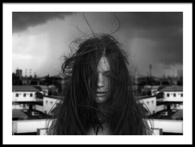 Buy this art print titled Rooftop Thinking by the artist Arkadiy Korobka