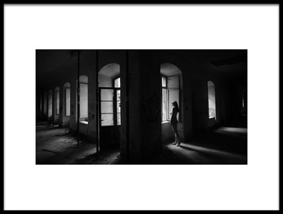 Art print titled Room With a View by the artist Dirk Brune