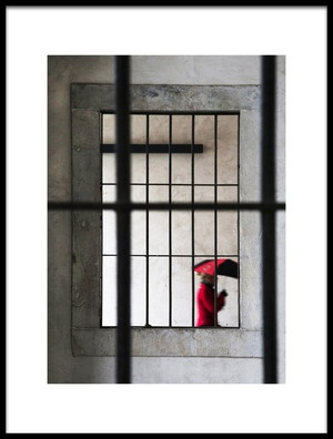 Buy this art print titled Rosso7 by the artist Luciano Caturegli