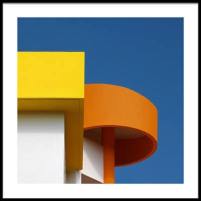Buy this art print titled Rotunda In Orange by the artist Rolf Endermann