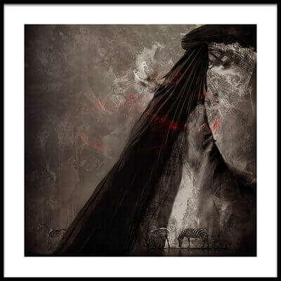 Art print titled Ruby Envy by the artist igor_voloshin