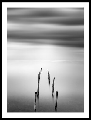 Buy this art print titled Ruined Pier 05 by the artist George Digalakis