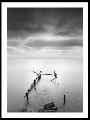 Buy this art print titled Ruined Pier IV by the artist George Digalakis